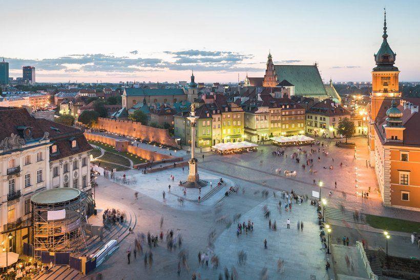 Старе място, Варшава