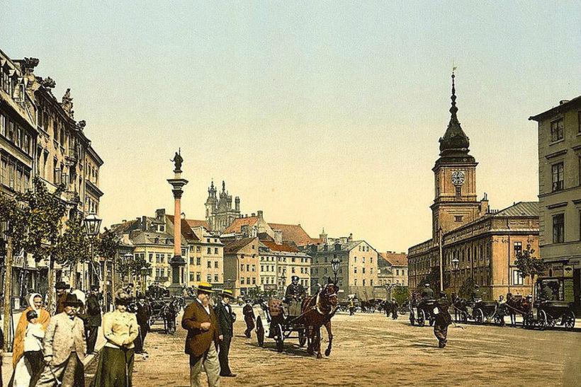 Варшава, 19 век