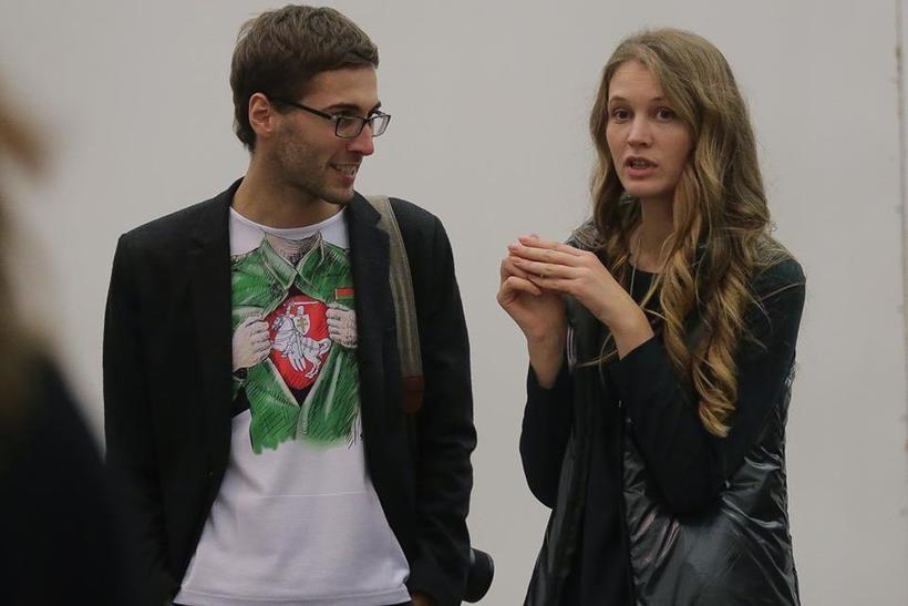 Антон Мотолько и Янина Гончарова