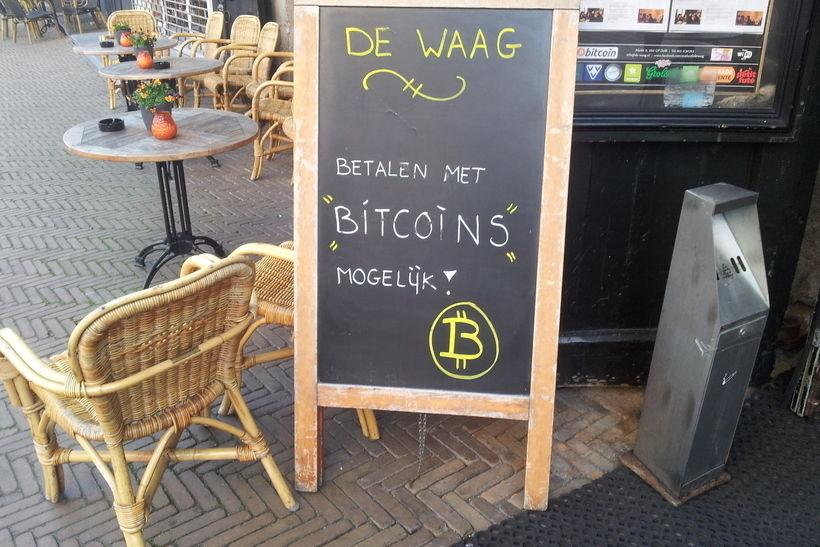 Кафе в Нидерландах, в котором можно расплачиваться биткоинами