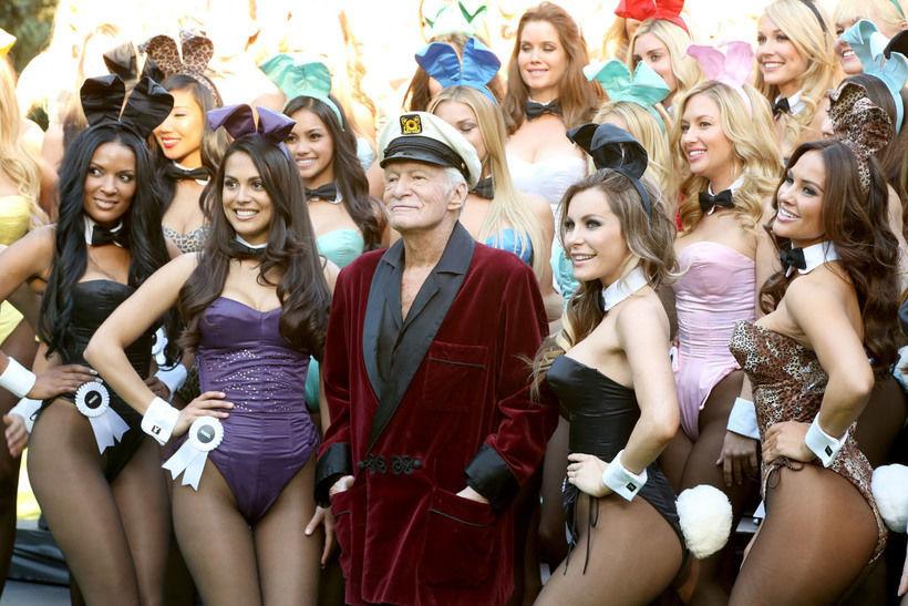 Празднование 60-летния журнала Playboy