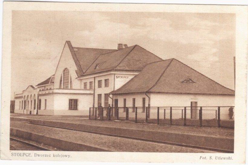 Вакзал у Стоўбцах, 1931 год