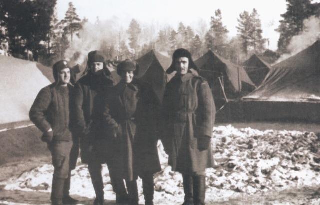 Жаўнеры польскага войска ў СССР, зіма 1941-1942 года