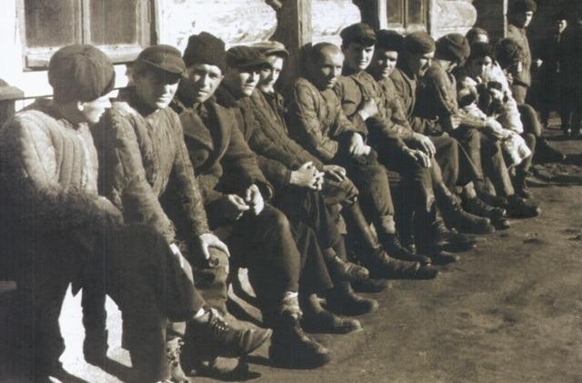 Былыя польскія вайскоўцы ў савецкім лагеры