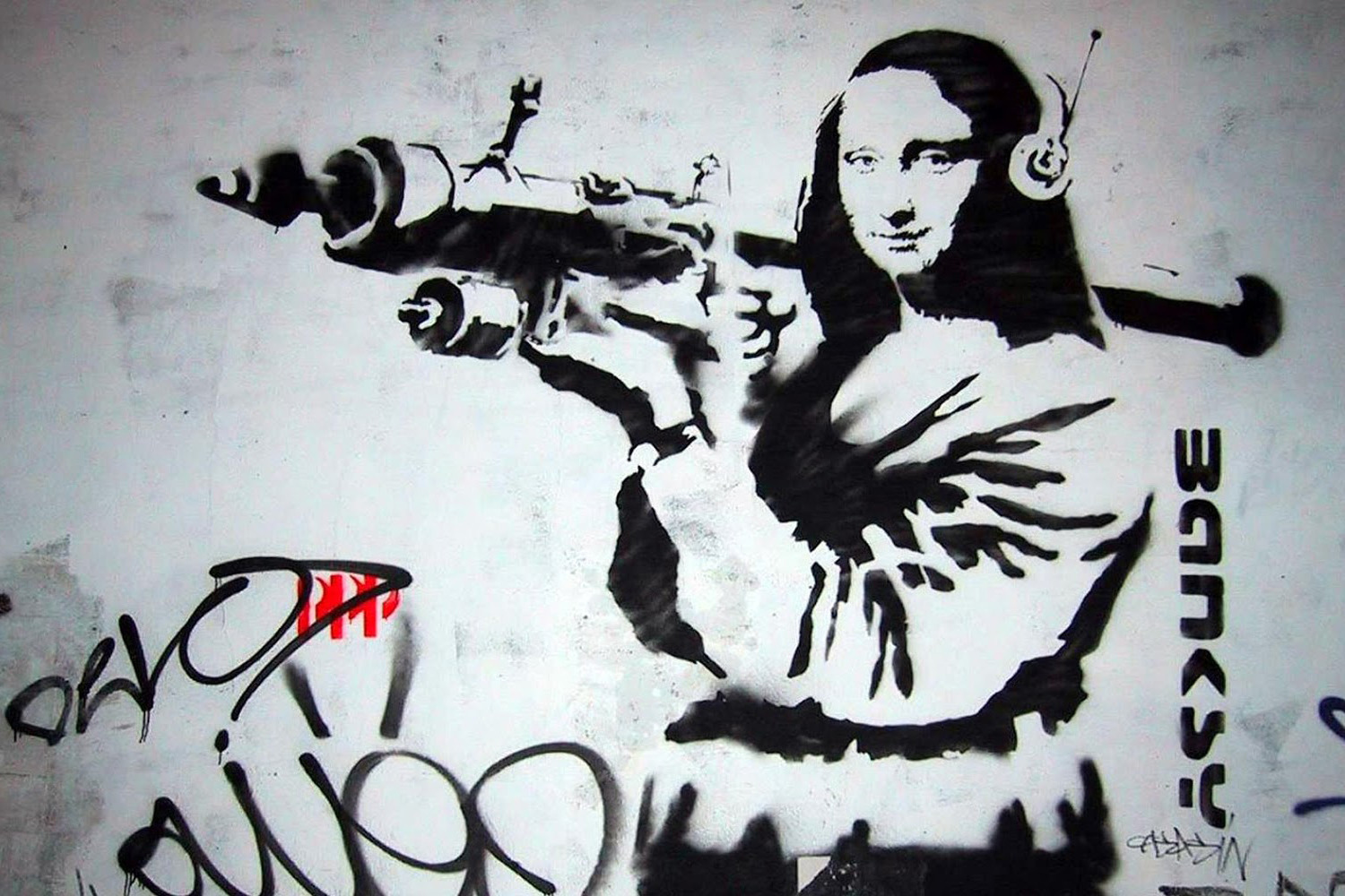 «Make art, not war»