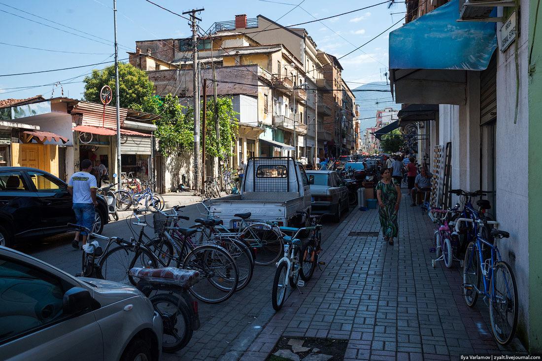 Албания, Тирана. Фото: Илья Варламов