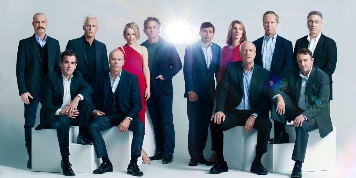 Команда актёров и их прототипов
