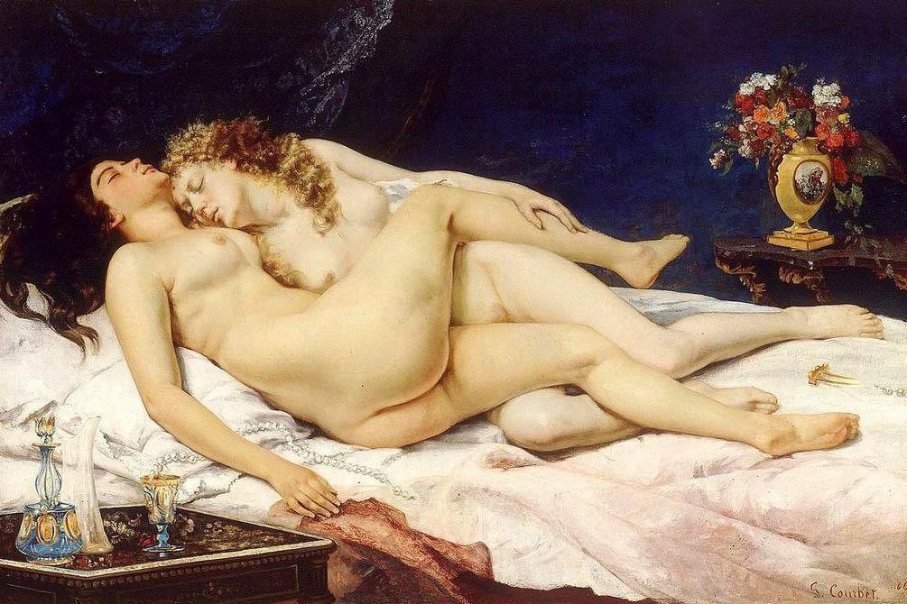 Густав Курбе. Спящие. 1866 год