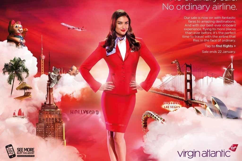 Virgin Atlantic, Великобритания