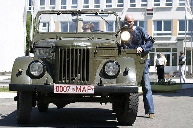 Иван за рулём Газ-69