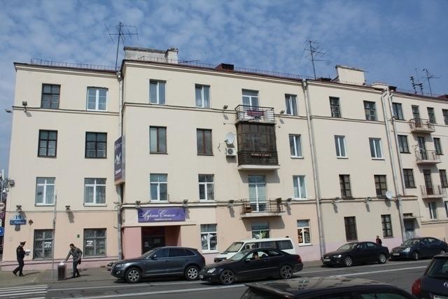 Дом 1929 года ў Мінску, дзе жылі чэкісты