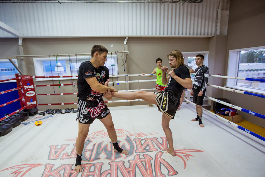 Тренировка муай-тай, фото: dvhab.ru