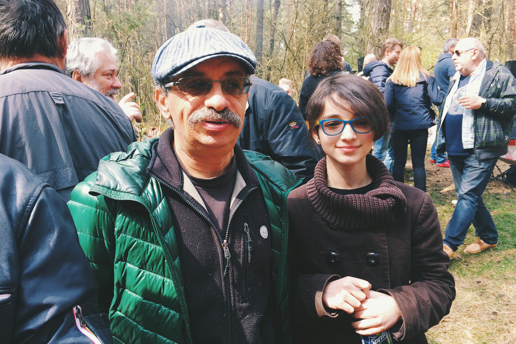 Блогер и писатель Евгений Липкович с дочерью Мирой