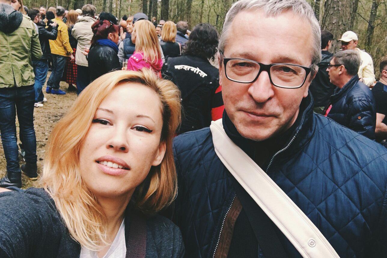 Журналист Саша Романова и писатель Артур Клинов