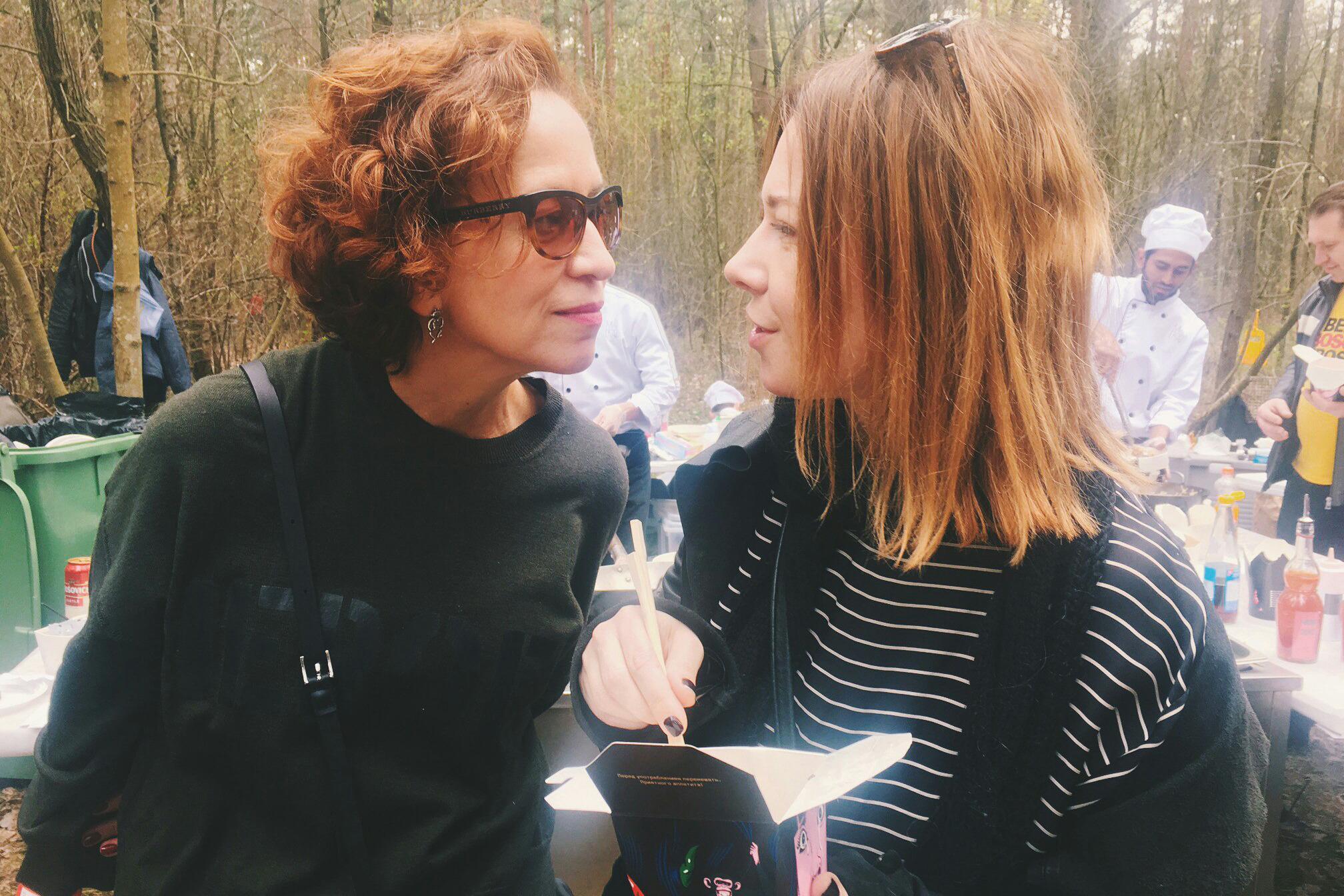 Ирина Налимова и Лена Цокаленко, дизайнеры