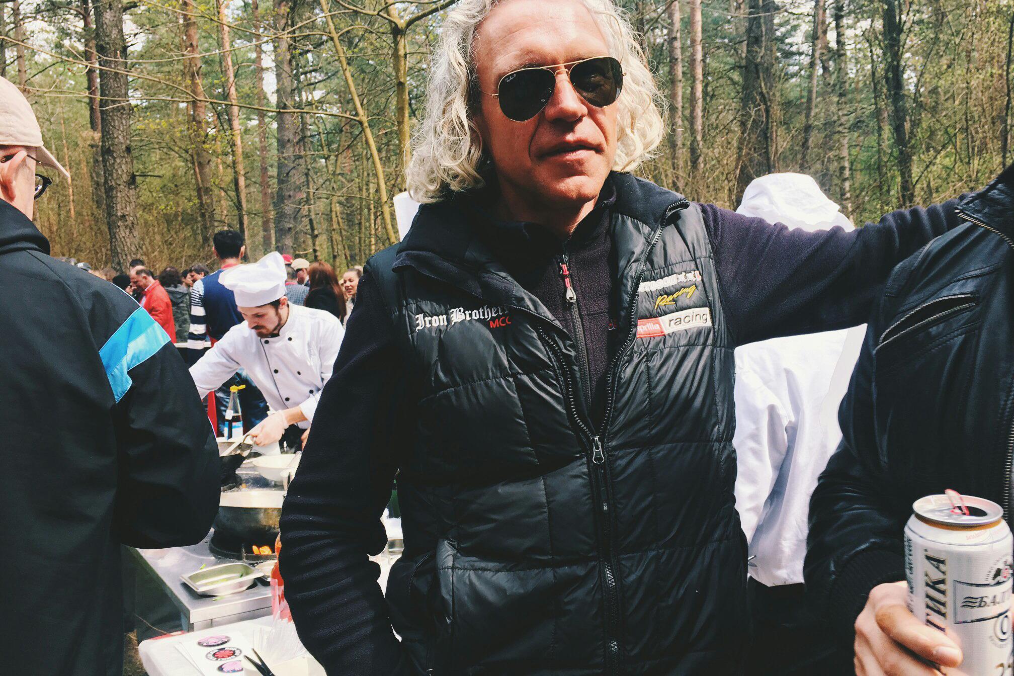 Дмитрий Евхименко, он же Ключ, председатель мотоклуба Iron Brothers