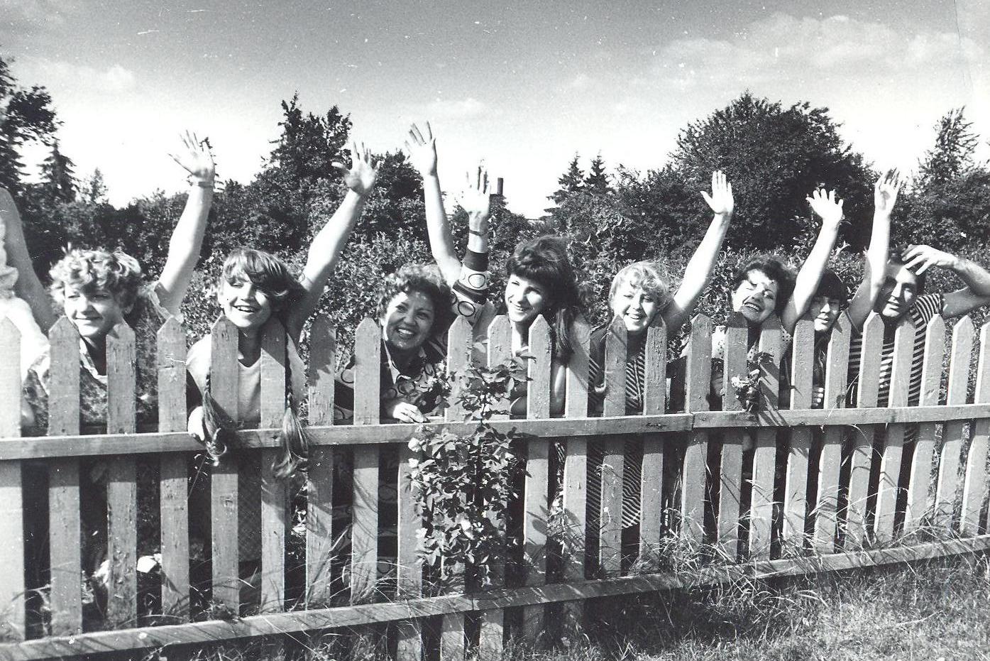 Саша Варламов (крайний справа): «Это фольклорные экспедиции. Мне тогда было 30 лет, и я работал заведующим ОНИЛ, где Юлия Чурко была научным руководителем».