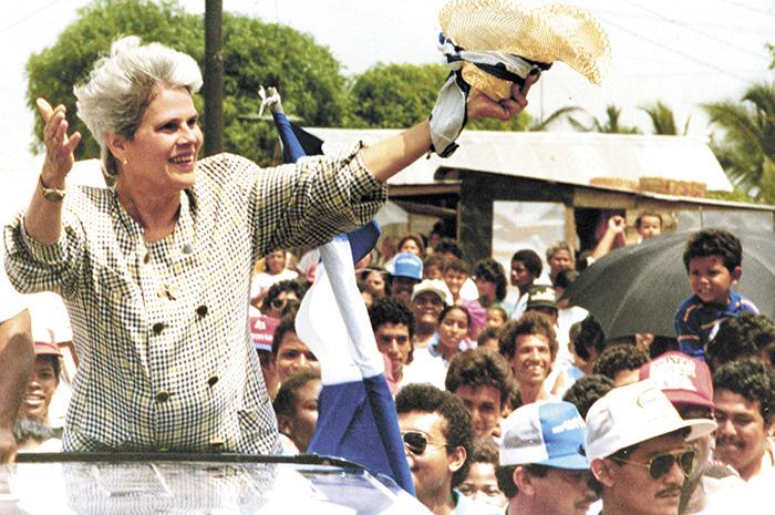 Виолетта Бариос – первая женщина-президент Никарагуа