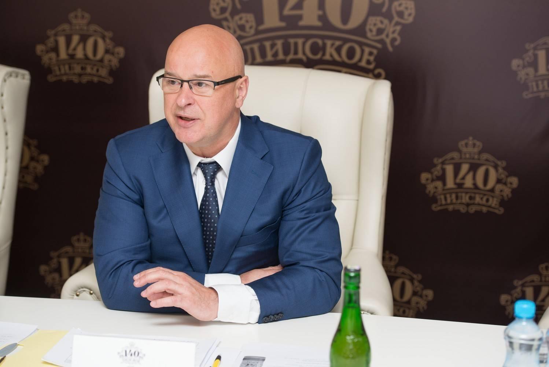 Аудриус Микшис – генеральный директор ОАО «Лидское пиво»