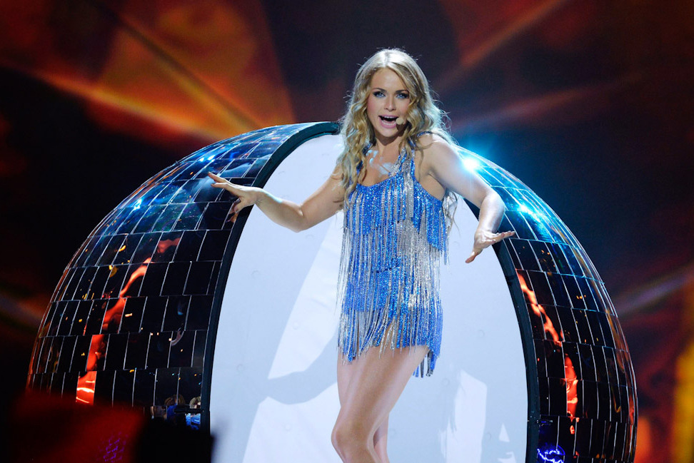 Алёна Ланская на Евровидении-2013, фото: Reuters