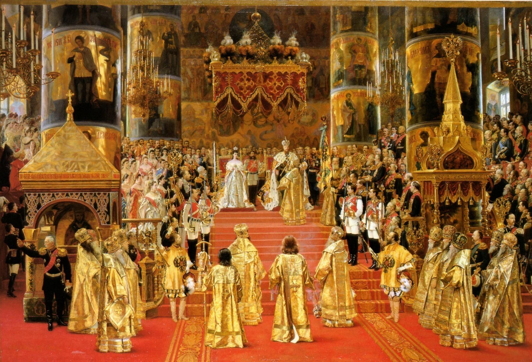 Жорж Беккер, Коронация императора Александра III и императрицы Марии Федоровны