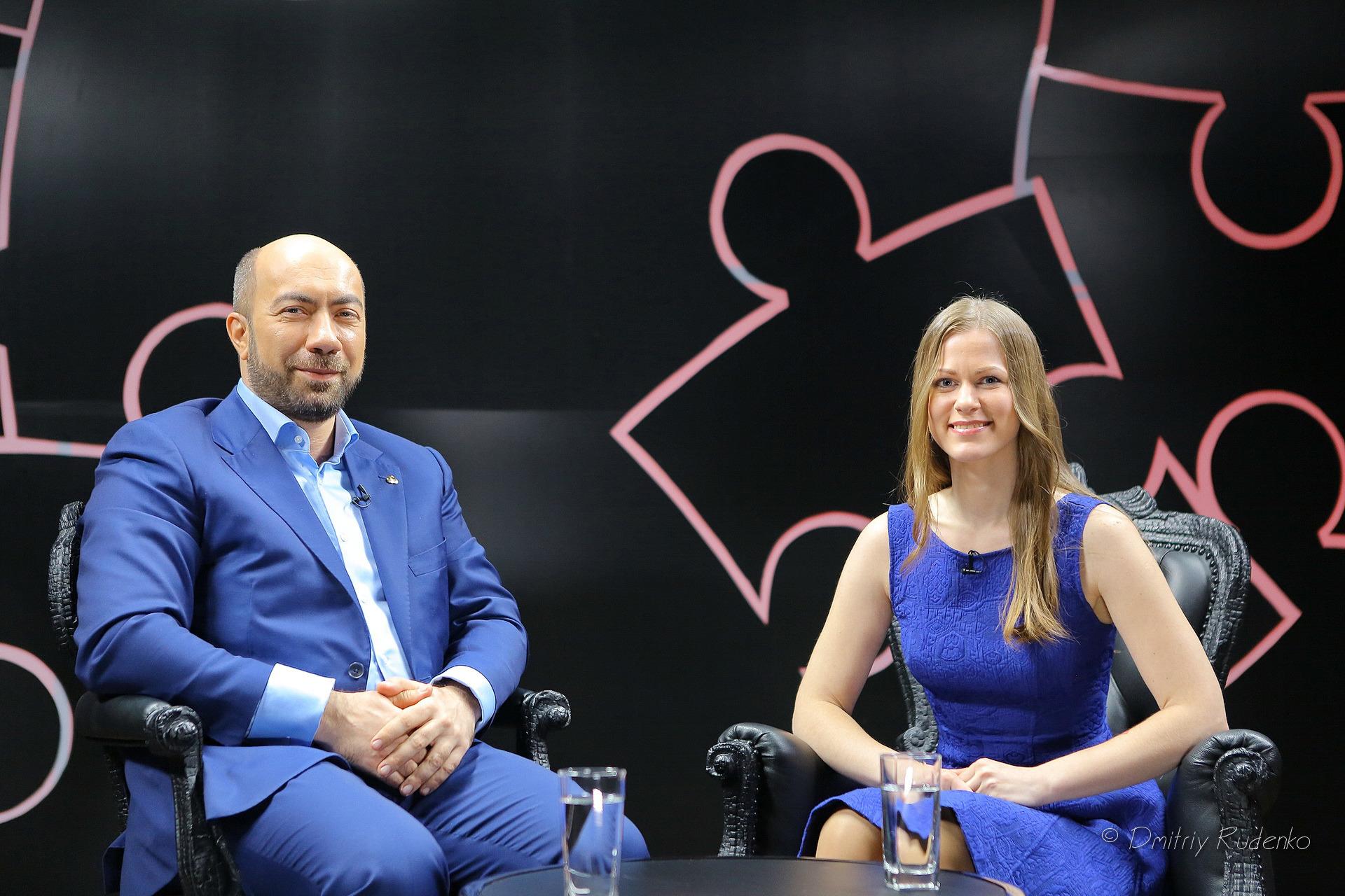 Ася Поплавская и Константин Довлатов