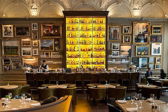 «Berners Tavern» в отеле Mariott в Лондоне