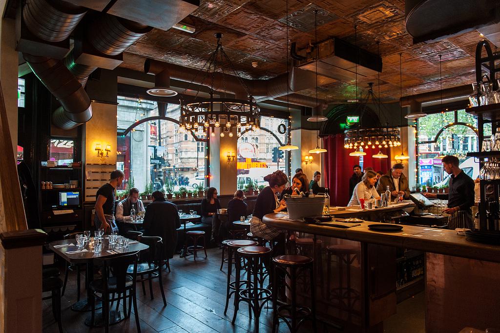 Ресторан «The Ape&Bird» в Лондоне