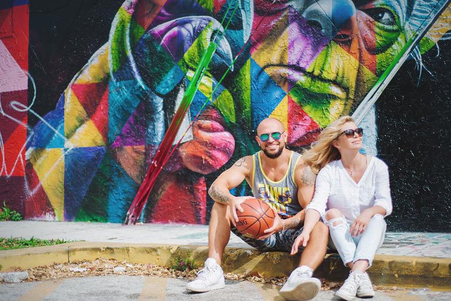 Павел Сыроежкин с женой Александрой Павловой