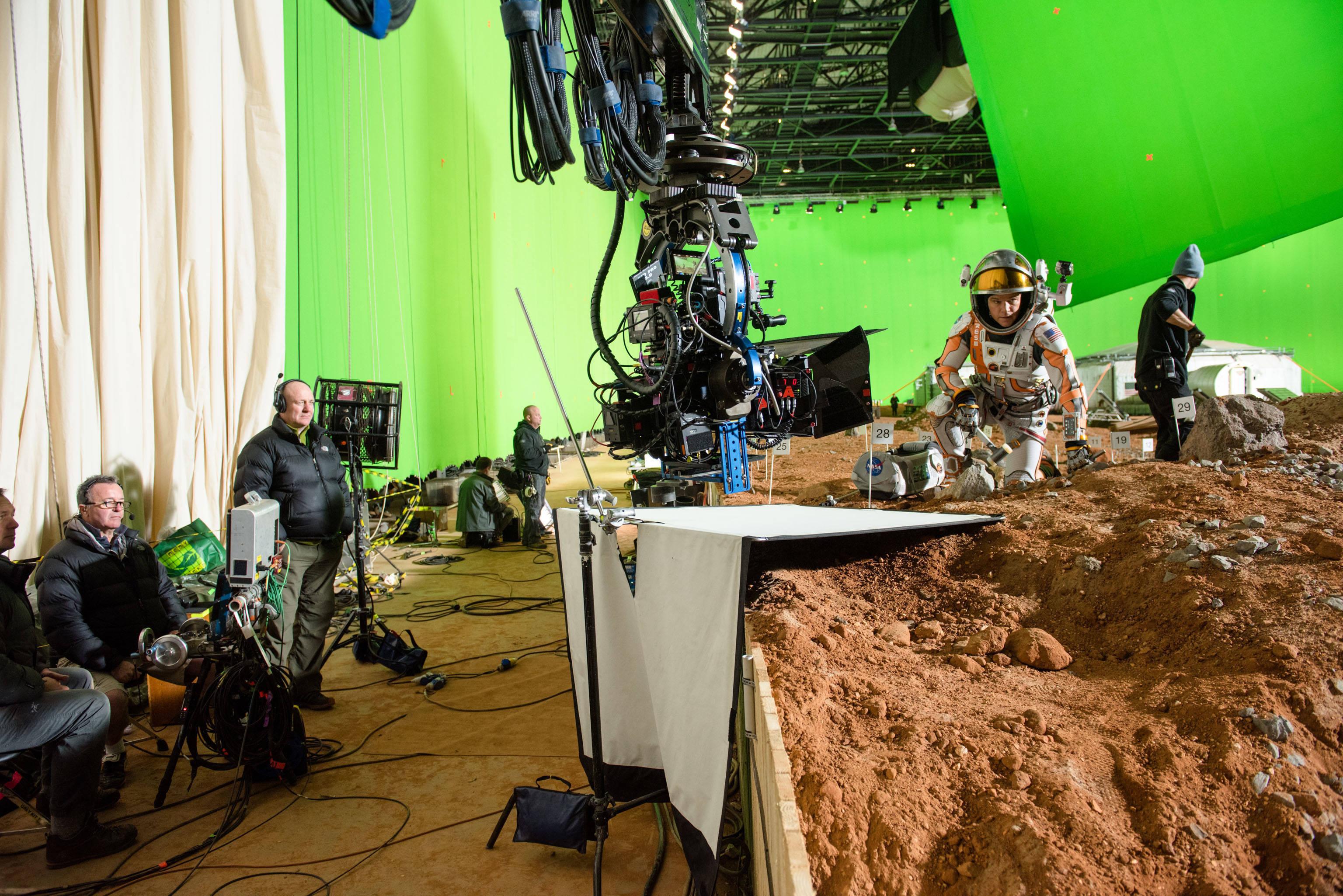 Съёмки фильма «Марсианин»