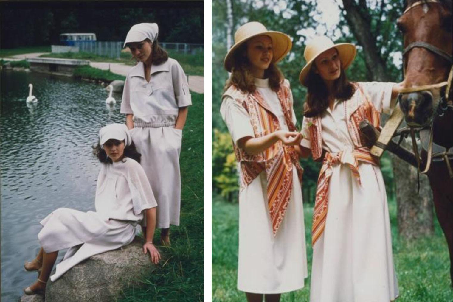 Девушки, 1980-е