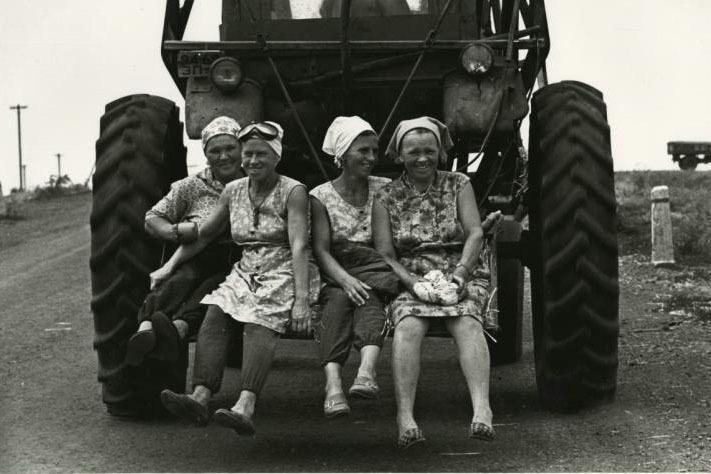 Под Молодечно, 1973 год. Фото: Виктор Ахломов
