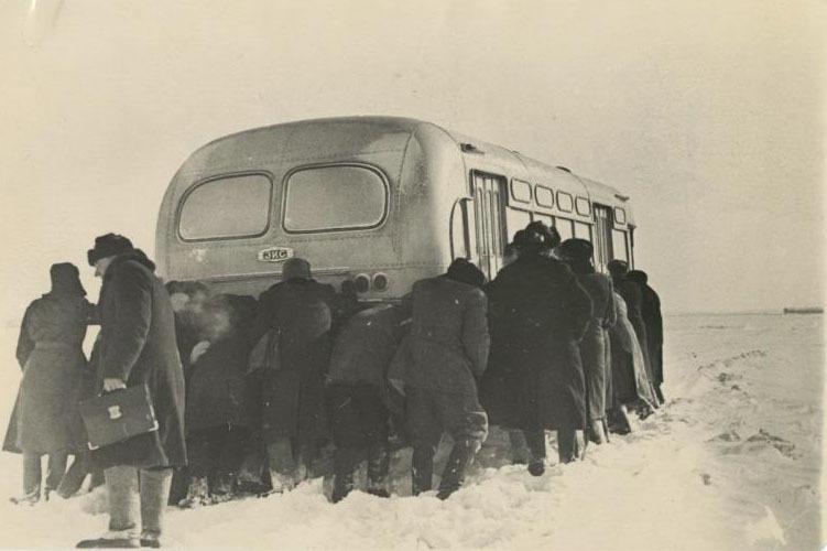 Командировка в Беларусь, 1954 год. Фото: Сергей Васин