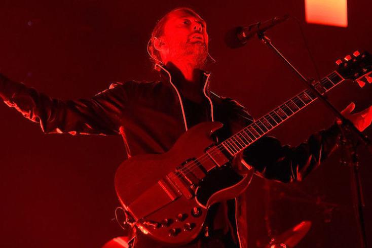 Концерт Radiohead, фото: Esquire