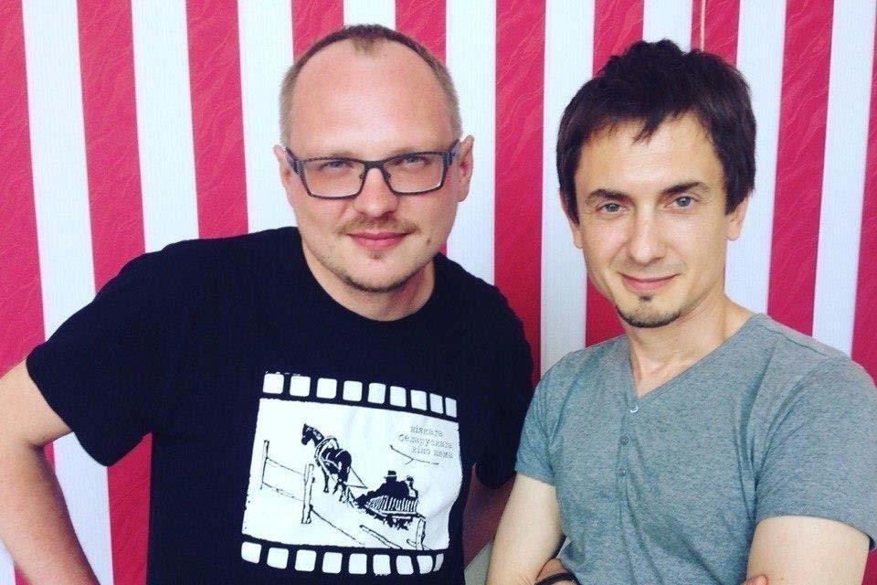 Андрей Курейчик и Дмитрий Фрига, фото: FB