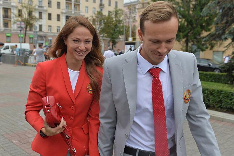 Александра Герасименя и Евгений Цуркин, фото: Виктор Толочко, Sputnik