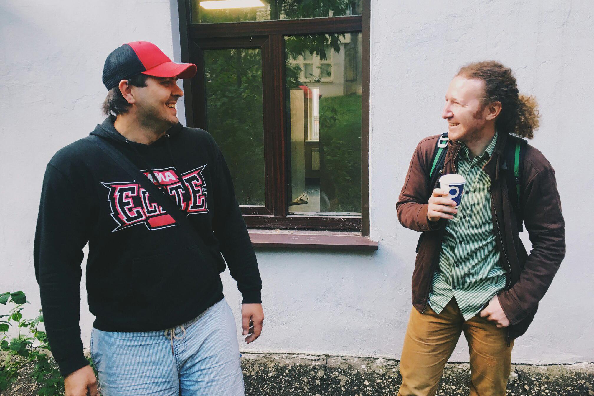 Евгений Васильев и Павел Свердлов