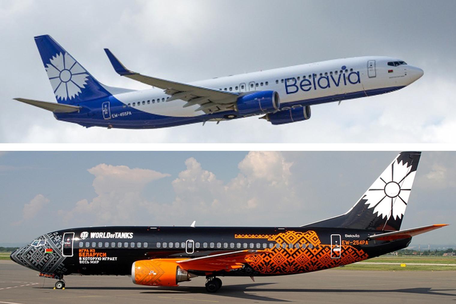 Новые самолёты «Белавиа», фото: Onliner.by, Planespotters.net