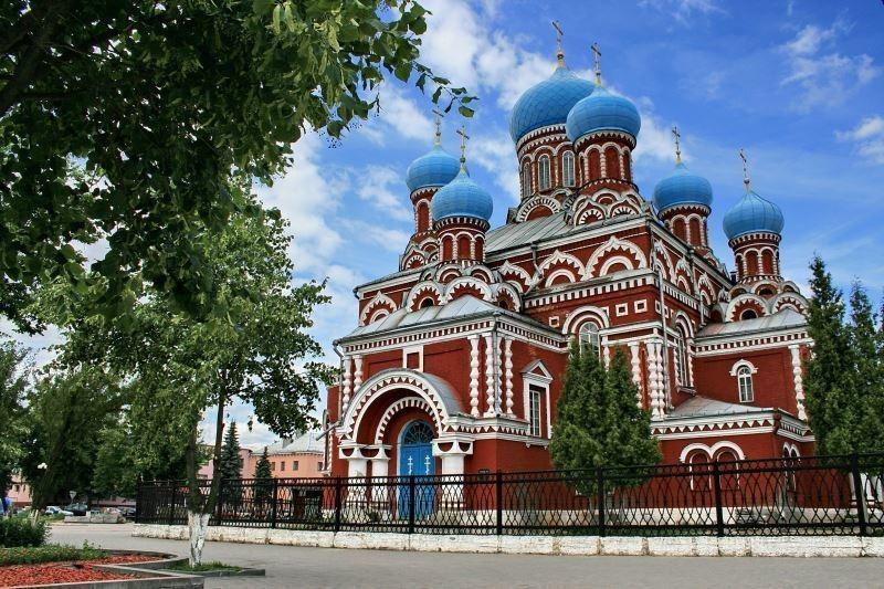 Церковь в Борисове, фото из путеводителя