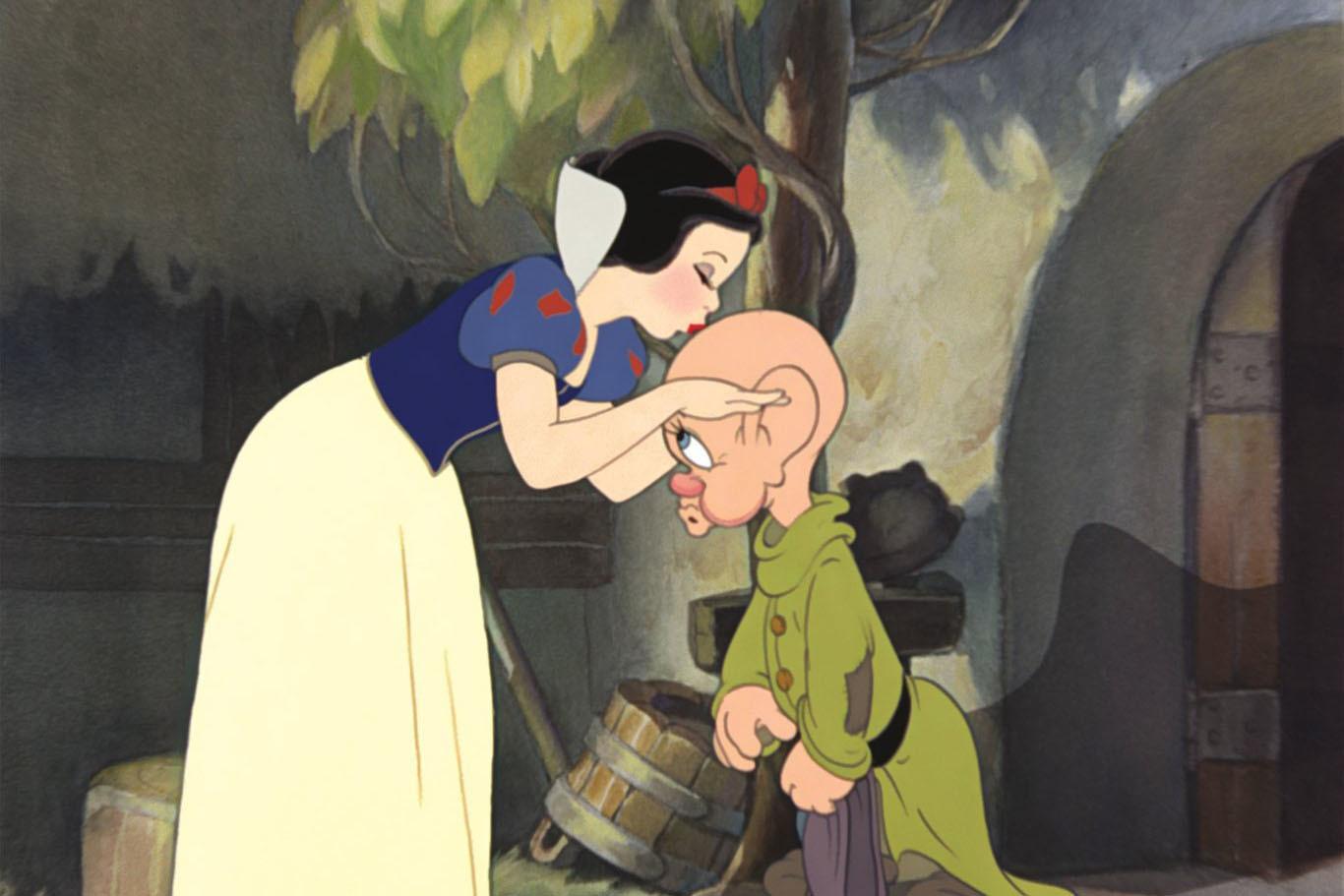 Кадр из мультфильма «Белоснежка и семь гномов»