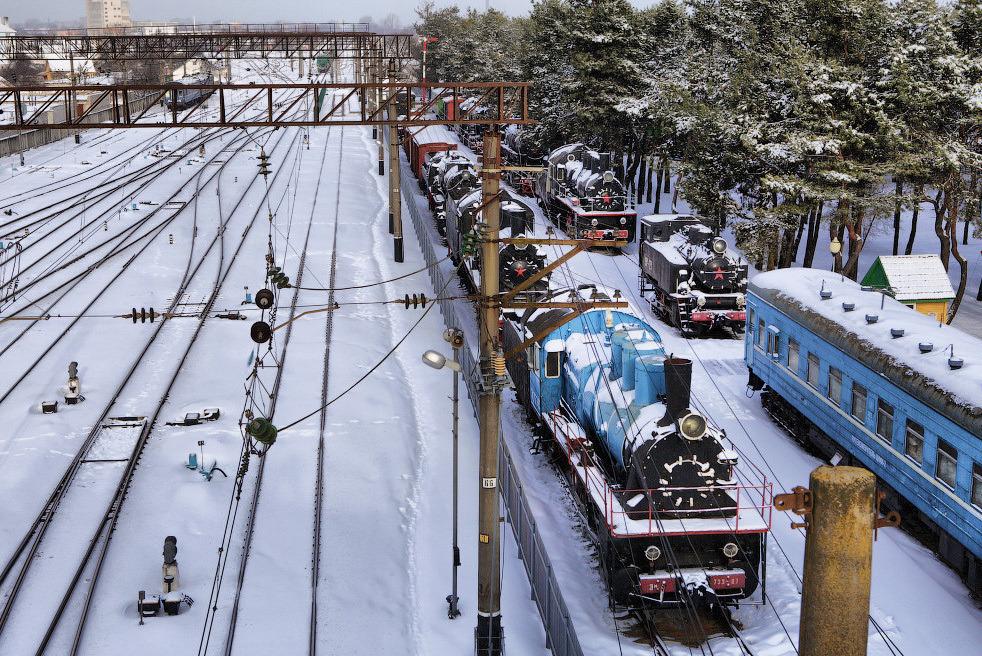 Музей железной дороги, фото: Андрей Дмитриев