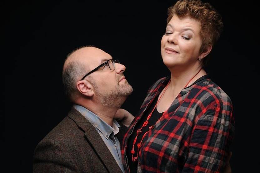 Юлия Чернявская с мужем Юрием Зиссером, фото: Григорий Лившиц