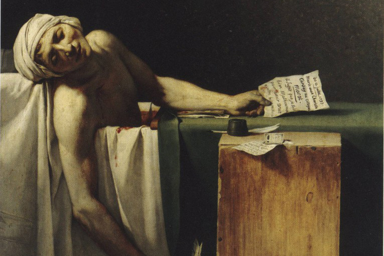 «Смерть Марата», Жак Луи Давид
