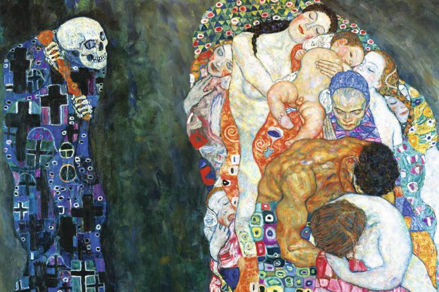 «Смерть и жизнь», Густав Климт
