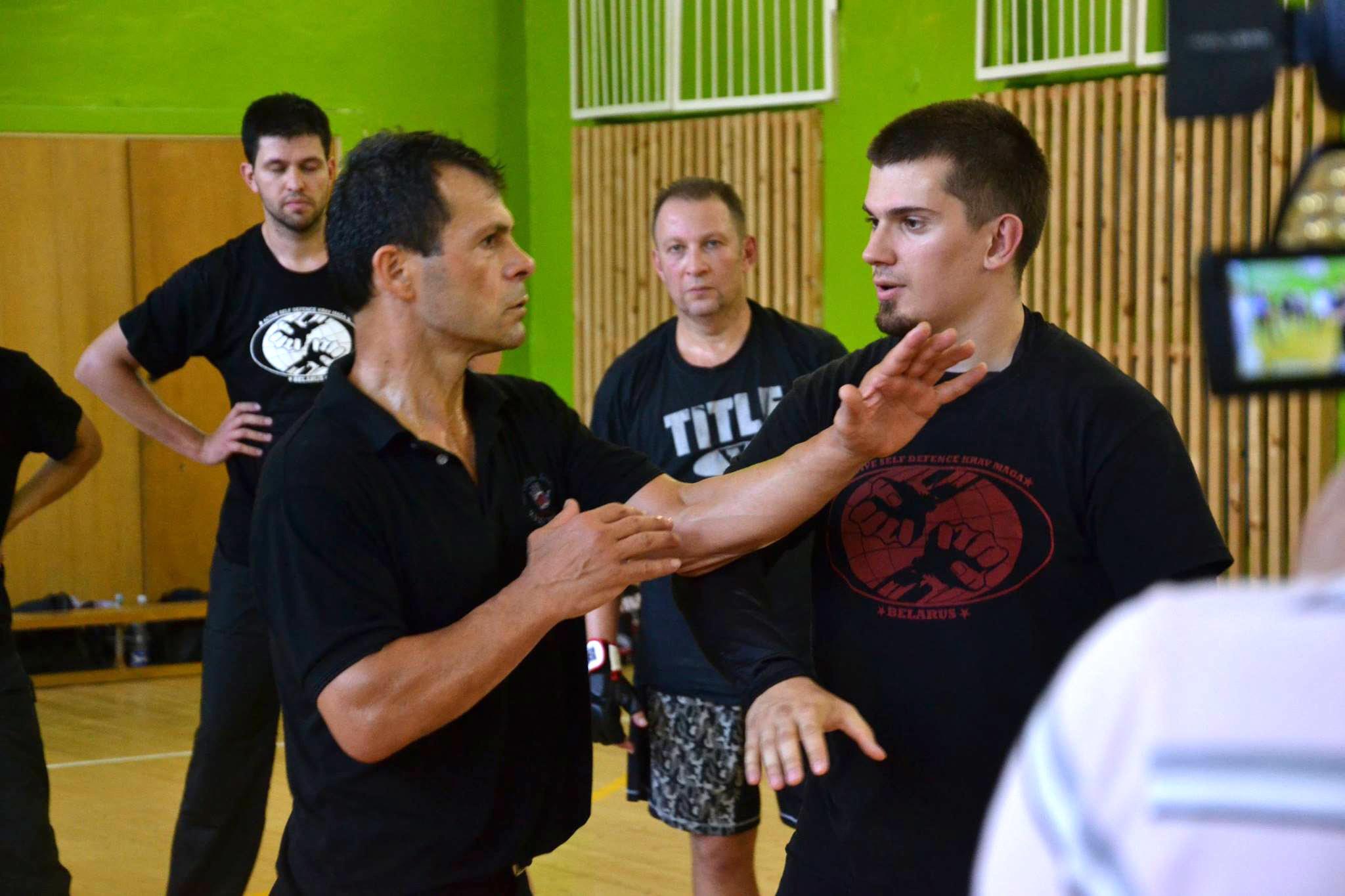 Илья Мурашко (справа), фото из FB