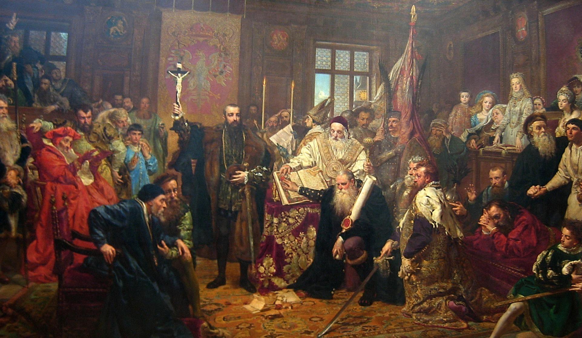 «Люблинская уния», Ян Матейко