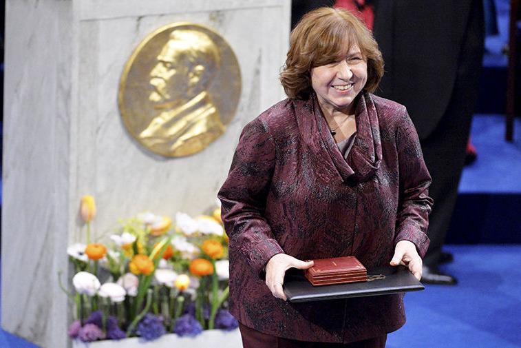 Светлана Алексиевич, фото: Reuters