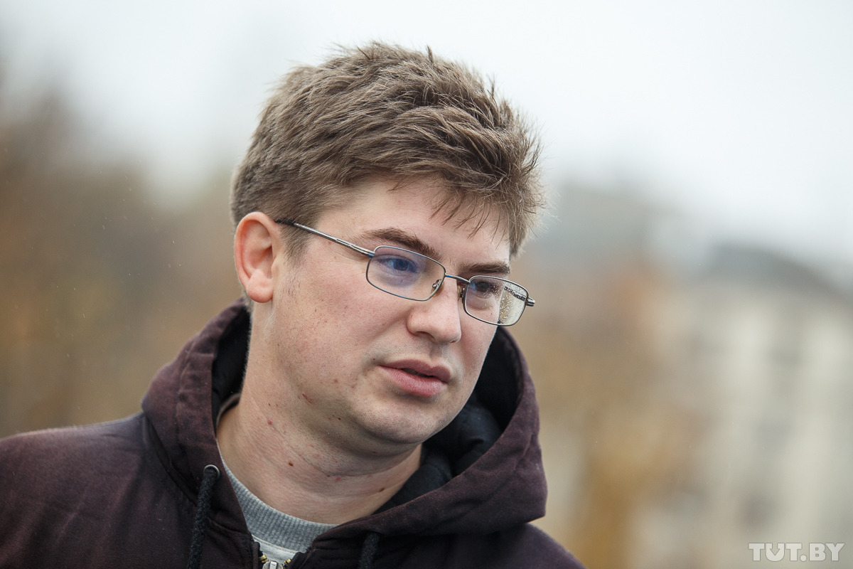 Олег Ларичев, фото: Вадим Замировский, TUT.by