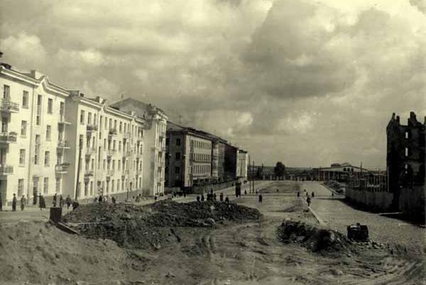 Реконструкция бульвара по ул. Комсомольской. Фото: архив Дмитрия Маслия