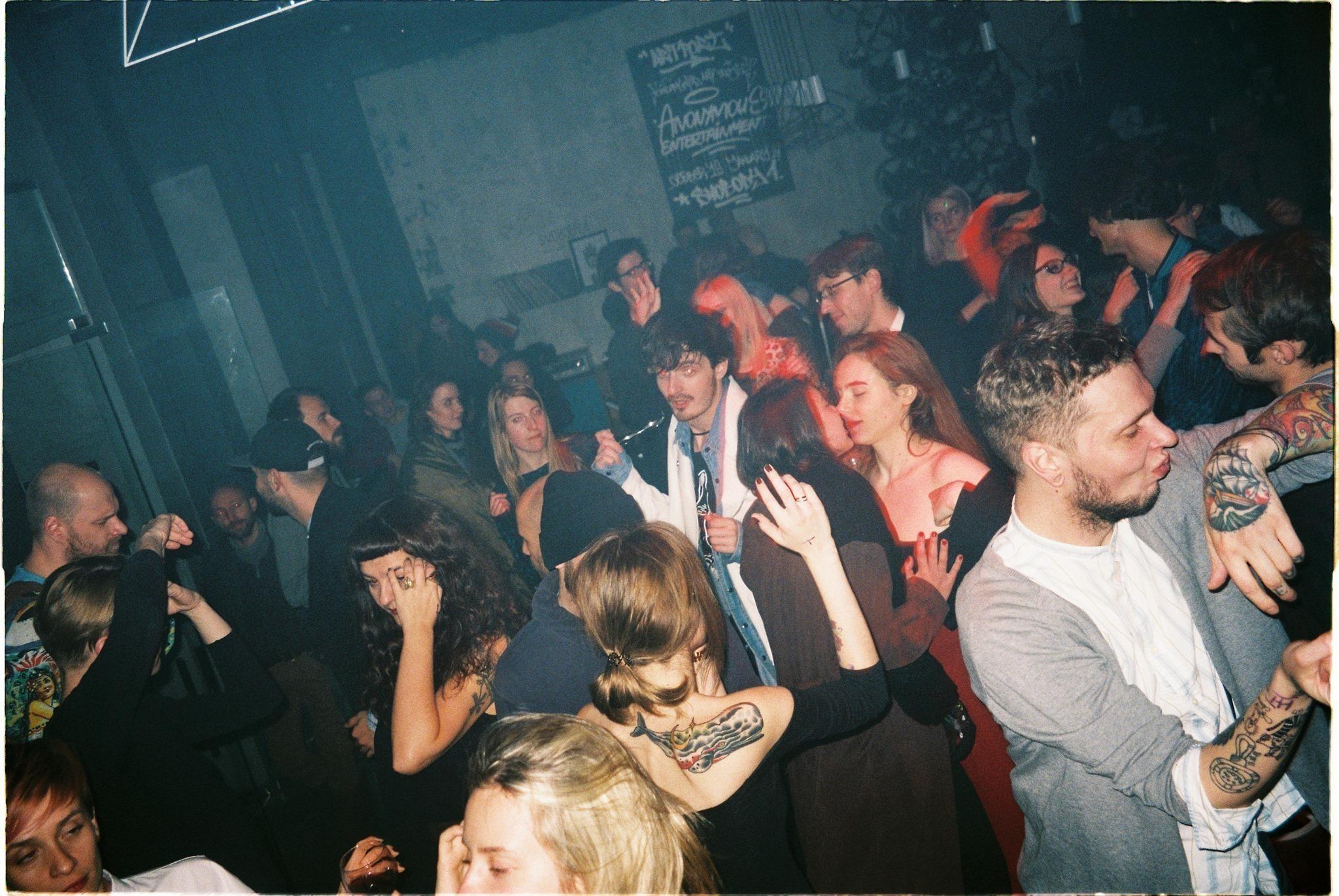 Из фотоотчета с вечеринки, фото: Катя Шумак